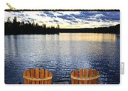 Tranquility At Sunset Carry-all Pouch by Elena Elisseeva