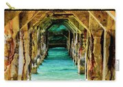 Tranquility Below Carry-all Pouch by Karen Wiles