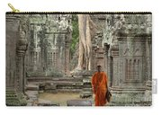 Tranquility In Angkor Wat Cambodia Carry-all Pouch by Bob Christopher