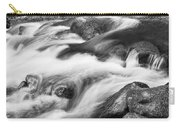 Tranquility In Black And White Carry-all Pouch