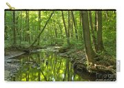 Tranquility In The Forest Carry-all Pouch by Adam Jewell