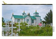 Transfiguration Of Our Lord Russian Orthodox Church In Ninilchik-ak Carry-all Pouch