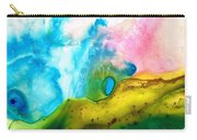 Transformation - Abstract Art By Sharon Cummings Carry-all Pouch by Sharon Cummings