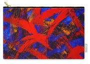 Transitions With Blue And Red  Carry-all Pouch