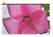 Translucent Flower After The Rain Carry-all Pouch