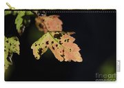 Translucent Maple Leaf Carry-all Pouch
