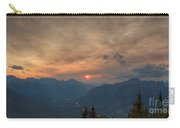 Translucent Sunset In Widescape Carry-all Pouch