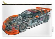 Transparent Car Concept Made In 3d Graphics 10  Carry-all Pouch