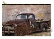 Transportation - Rusted Chevrolet 3100 Pickup Carry-all Pouch
