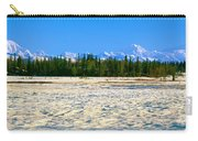 Trapper Creek And Mount Mckinley, Alaska Carry-all Pouch