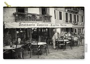 Trattoria In Venice  Carry-all Pouch by Madeline Ellis
