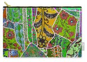 Travel Shopping Colorful Tapestry 8 India Rajasthan Carry-all Pouch