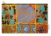 Travel Shopping Colorful Tapestry 9 India Rajasthan Carry-all Pouch