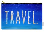Travel Word Art Carry-all Pouch
