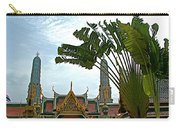 Traveler's Palm At Grand Palace Of Thailand In Bangkok Carry-all Pouch