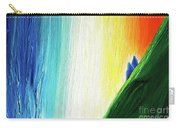 Travelers Rainbow Waterfall Detail Carry-all Pouch