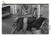 Travelin' Man Monochrome Carry-all Pouch