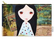 Traveling Little Girl Carry-all Pouch