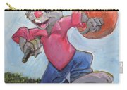 Traveling Rabbit Carry-all Pouch by Terry Lewey