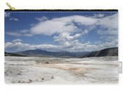 Travertine Hill Of Mammoth Hot Springs  Carry-all Pouch