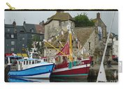 Trawlers In Honfleur Carry-all Pouch