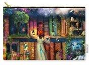 Fairytale Treasure Hunt Book Shelf Variant 2 Carry-all Pouch