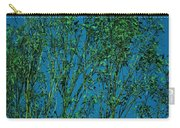 Tree Abstract Blue Green Carry-all Pouch