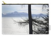 Tree And Fog Carry-all Pouch