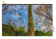 Tree And Rocks Carry-all Pouch