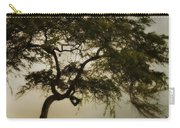 Tree And Stormy Sky Carry-all Pouch