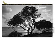 Tree And Sun Carry-all Pouch