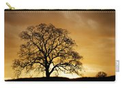 Tree At Golden Sunrise Carry-all Pouch