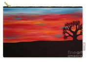 Tree At Sunset II Carry-all Pouch