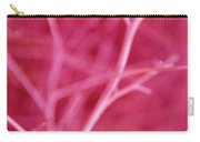 Tree Branches Abstract Hot Pink Carry-all Pouch