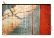 Tree Branches Shadow On Wall Carry-all Pouch