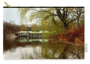 Tree By The River  Carry-all Pouch by Mark Ashkenazi