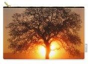 Tree Fog Sunrise Carry-all Pouch