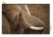 Tree Hugging Elephant Carry-all Pouch