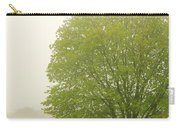 Tree In Fog Carry-all Pouch by Elena Elisseeva