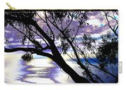 Tree In Silhouette Carry-all Pouch