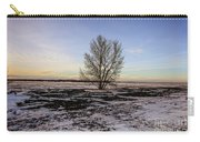 Tree In The Field Carry-all Pouch