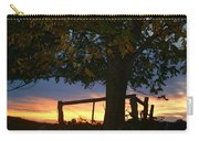 Tree In The Sunset Carry-all Pouch