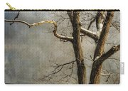 Tree In Winter Carry-all Pouch by Lois Bryan