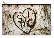 Tree Initials Carry-all Pouch