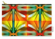 Tree Light Square Pattern Carry-all Pouch