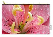 Tree Lily Upclose With Ant Carry-all Pouch