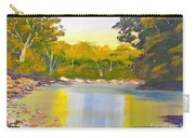 Tree Lined River Carry-all Pouch