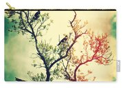 Tree Of Crows II Lights Carry-all Pouch
