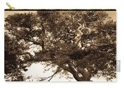 Tree Of Life In Sepia Carry-all Pouch