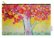 Tree Of Life In Spring Carry-all Pouch by Ana Maria Edulescu